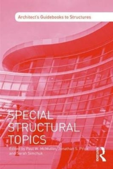 Special Structural Topics, Paperback Book