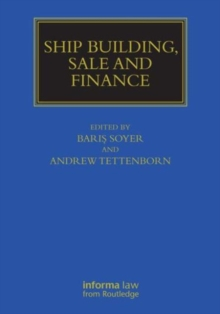 Ship Building, Sale and Finance, Hardback Book
