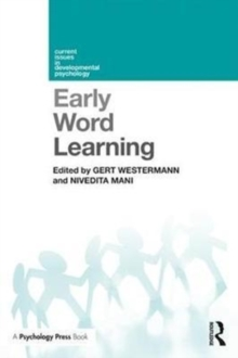 Early Word Learning, Paperback Book