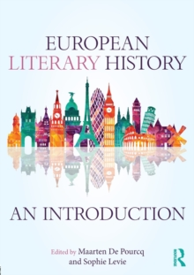 European Literary History : An Introduction, Paperback Book