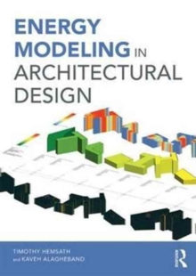 Energy Modeling in Architectural Design, Paperback Book