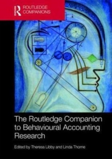 The Routledge Companion to Behavioural Accounting Research, Hardback Book