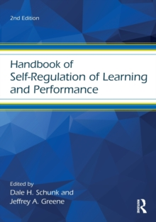 Handbook of Self-Regulation of Learning and Performance, Paperback Book