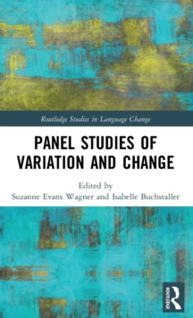 Panel Studies of Variation and Change, Hardback Book