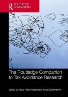 The Routledge Companion to Tax Avoidance Research, Hardback Book