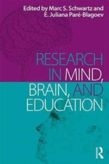 Research in Mind, Brain, and Education, Paperback Book