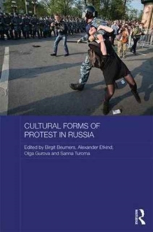 Cultural Forms of Protest in Russia, Hardback Book