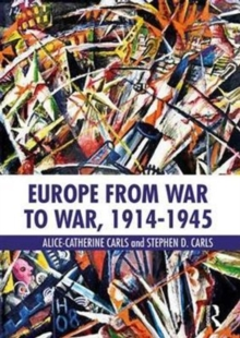 Europe from War to War, 1914-1945, Paperback Book