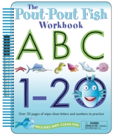 The Pout-Pout Fish Wipe Clean Workbook ABC, 1-20, Book Book