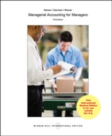 Managerial Accounting for Managers, Paperback Book