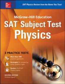 McGraw-Hill Education SAT Subject Test Physics 2nd Ed., Paperback Book