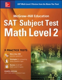 McGraw-Hill Education SAT Subject Test Math Level 2 4th Ed., Paperback / softback Book