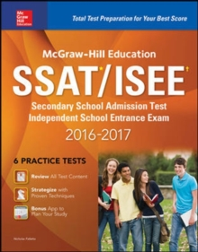 McGraw-Hill Education SSAT/ISEE 2016-2017, Paperback Book