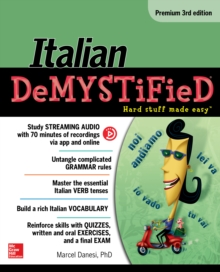 Italian Demystified, Premium 3rd Edition, EPUB eBook