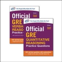 Official GRE Value Combo, Paperback Book