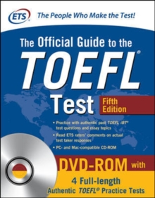 The Official Guide to the TOEFL Test with DVD-ROM, Fifth Edition, Paperback Book