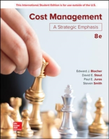 ISE Cost Management: A Strategic Emphasis, Paperback / softback Book