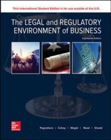 The Legal and Regulatory Environment of Business, Paperback / softback Book