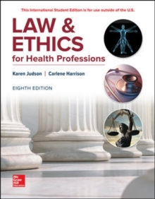 LAW & ETHICS FOR HEALTH PROFESSIONS, Paperback / softback Book