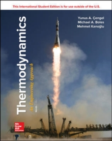 THERMODYNAMICS: AN ENGINEERING APPROACH, Paperback / softback Book