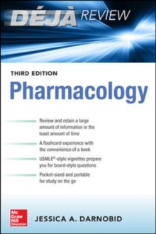 Deja Review:  Pharmacology, Third Edition, Paperback / softback Book