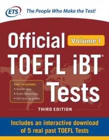 Official TOEFL iBT Tests Volume 1, Third Edition, EPUB eBook