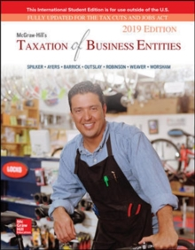 ISE McGraw-Hill's Taxation of Business Entities 2019 Edition, Paperback / softback Book