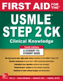 First Aid for the USMLE Step 2 CK, Tenth Edition, PDF eBook