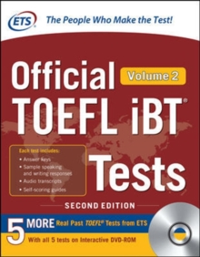 Official TOEFL iBT Tests Volume 2, Second Edition, Book Book