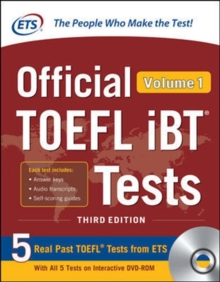 Official TOEFL iBT Tests Volume 1, Third Edition, Book Book