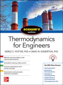 Schaums Outline of Thermodynamics for Engineers, Fourth Edition, Paperback / softback Book