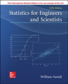 ISE STATISTICS FOR ENGINEERS AND SCIENTISTS, Paperback / softback Book