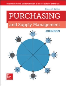 ISE PURCHASING AND SUPPLY MANAGEMENT, Paperback / softback Book