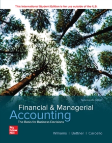 ISE eBook Online Access for Financial and Managerial Accounting, EPUB eBook