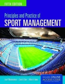 Principles And Practice Of Sport Management, Paperback Book