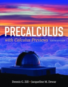 Precalculus With Calculus Previews, Hardback Book