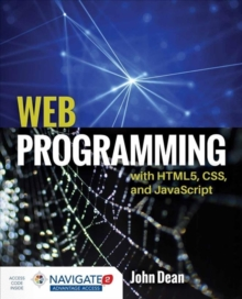 Web Programming With HTML5, CSS, And Javascript, Hardback Book