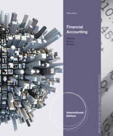 Financial Accounting, International Edition, Paperback Book