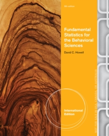 Fundamental Statistics for the Behavioral Sciences, International Edition, Paperback Book