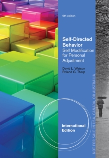 Self-Directed Behavior : Self-Modification for Personal Adjustment, International Edition, Paperback / softback Book