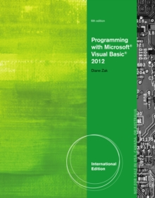 Programming with Microsoft (R) Visual Basic (R) 2012, International Edition, Paperback Book