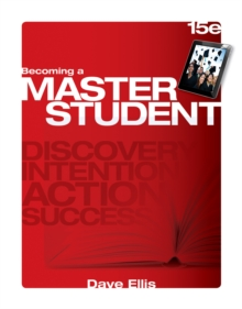 Becoming a Master Student, Paperback / softback Book