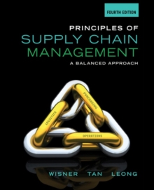 Principles of Supply Chain Management : A Balanced Approach, Hardback Book