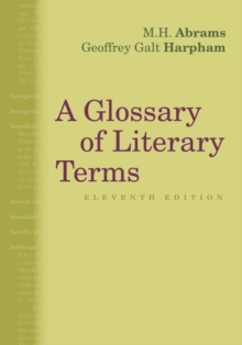 A Glossary of Literary Terms, Paperback / softback Book
