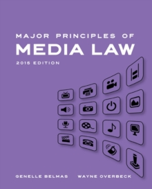 Major Principles of Media Law, 2015, Paperback Book