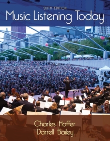 Music Listening Today (with Digital Music Download Printed Access Card for the 4 CD Set), Mixed media product Book