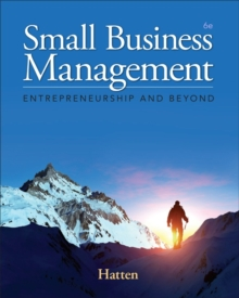 Small Business Management : Entrepreneurship and Beyond, Hardback Book