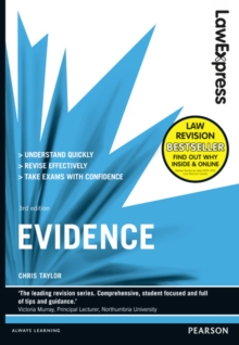 Law Express: Evidence (Revision Guide), Paperback Book
