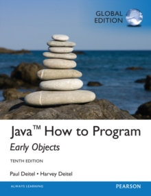 Java How To Program (Early Objects), Global Edition, Mixed media product Book