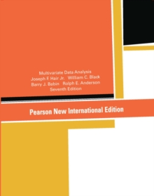 Multivariate Data Analysis: Pearson New International Edition, Paperback / softback Book